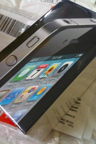 iPhone4到着
